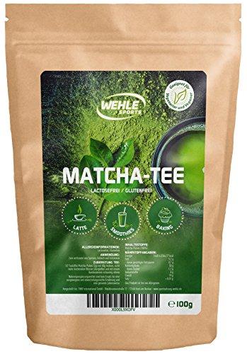 Matcha-Tee-Pulver für Matcha-Latte/Smoothies