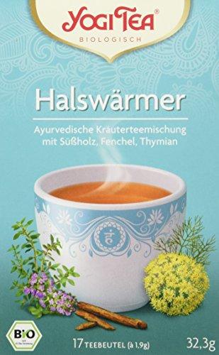 Yogi Tea Halswaermer Tee Bio, 3 Pack