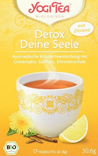 Yogi Tea Detox mit Zitrone Bio, 3er Pack