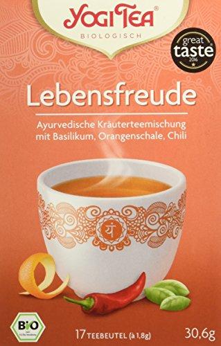Yogi Tea Lebensfreude Bio, 3 Pack