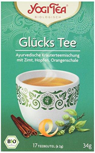 Yogi Tea Glücks Tee Bio, 3er Pack